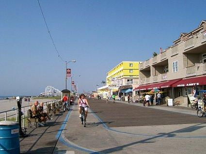 Wildwood New Jersey. North Wildwood Boardwalk - New